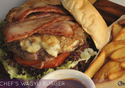 CHEF'S WAGYU BURGER