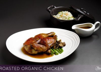 ROASTED ORGANIC CHICKEN