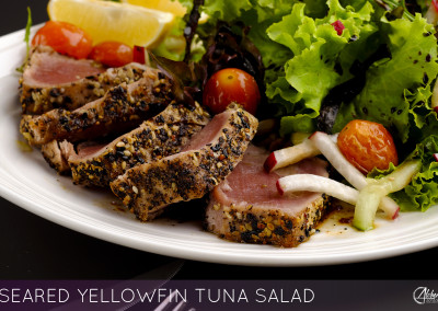 SEARED YELLOWFIN TUNA SALAD